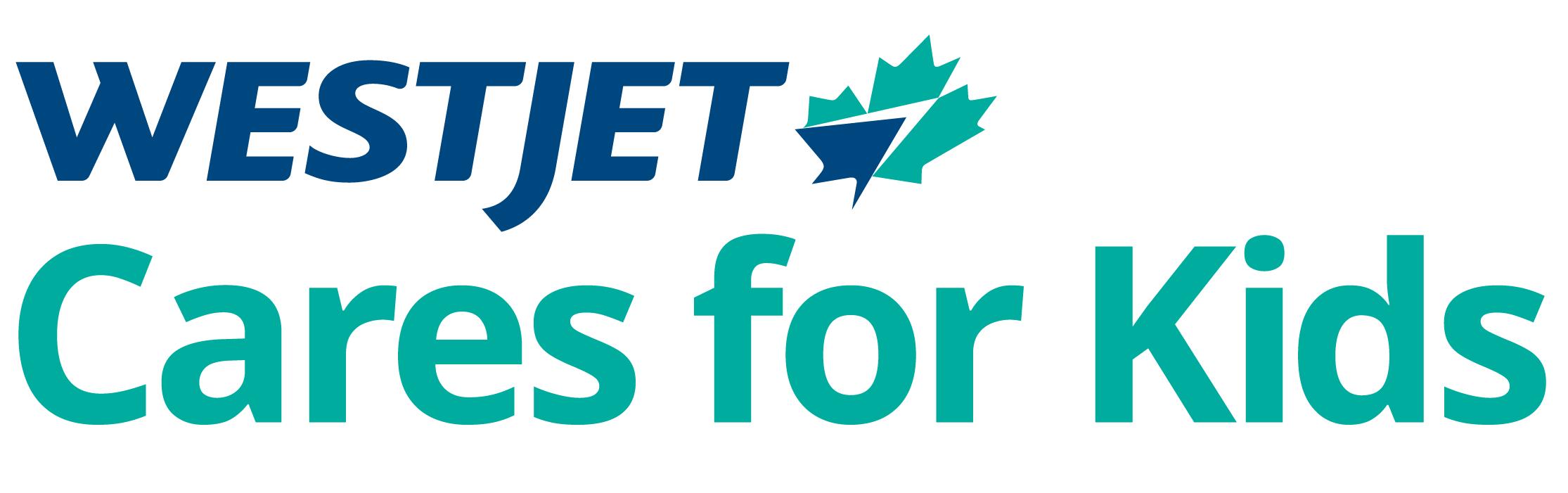 WestJet Cares for Kids logo