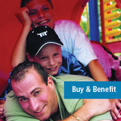 Buy and Benefit icon