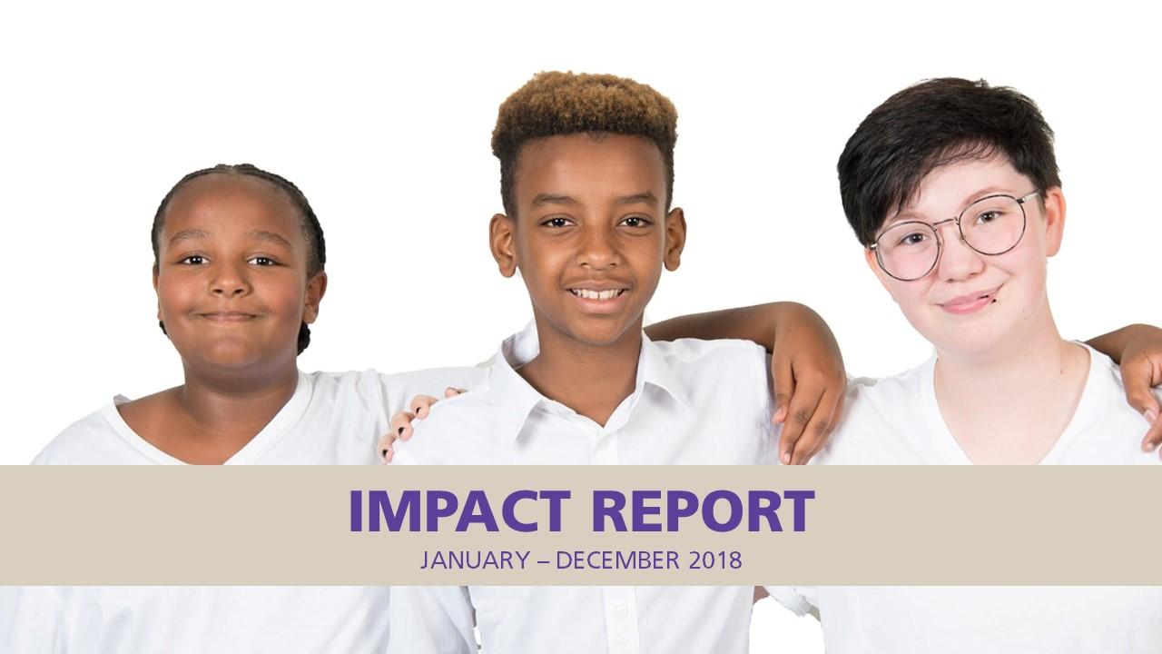 Impact Report Cover Slide